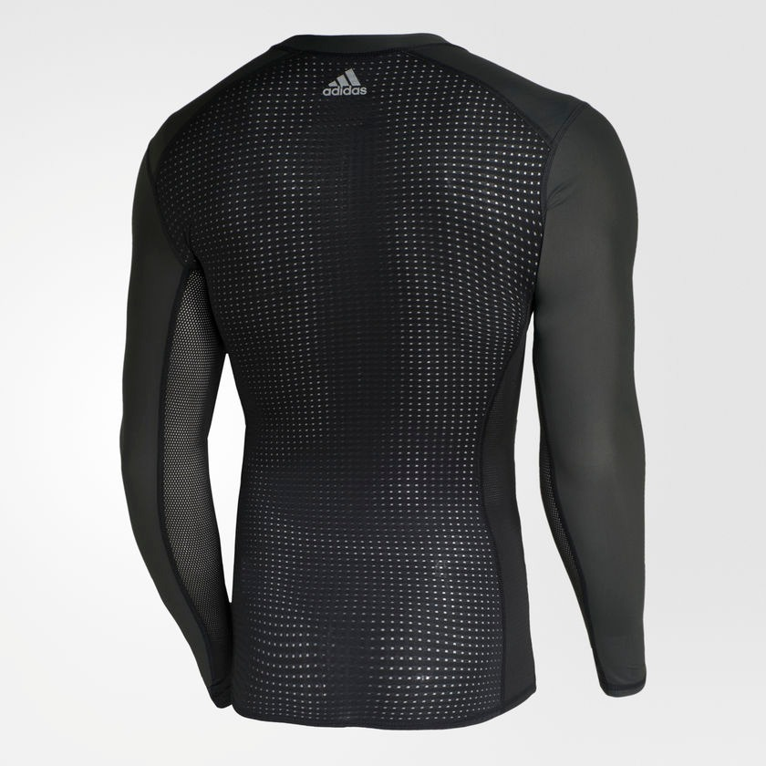 e110ba085e90d camisa compressão adidas techfit chill ls ml . Carregando zoom.