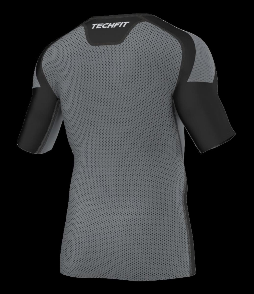 camisa compressão adidas techfit climacool alta performance. Carregando  zoom. be814a665b297