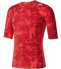 b0fe5ab159 Adidas Com Asas Masculino - Camisetas Masculinas Vermelho Curta com o  Melhores Preços no Mercado Livre Brasil