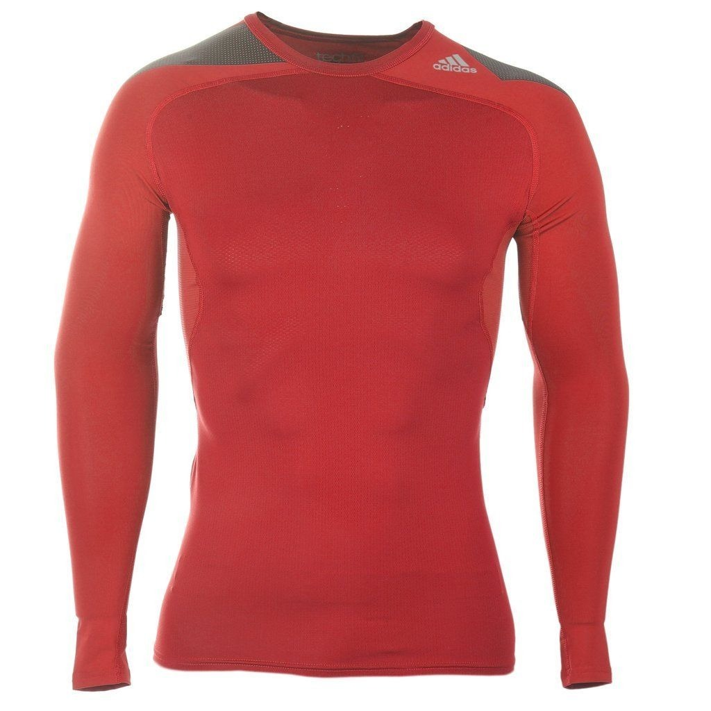 camisa compressão adidas techfit run top térmica manga longa. Carregando  zoom. 14174723dc7a5