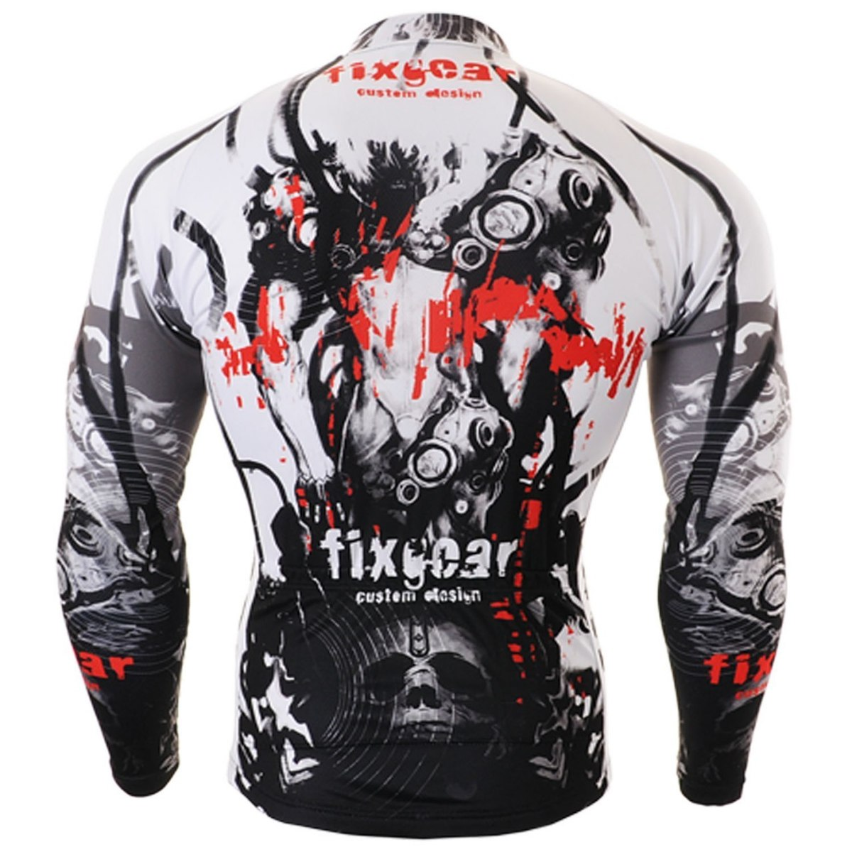 camisa compressão ciclismo masculino manga longa - xxl. Carregando zoom. a9f01c8e85d0c