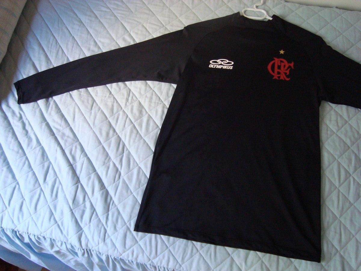 camisa compressão flamengo olympikus preta manga longa - gg. Carregando  zoom. 3b70e953d466e
