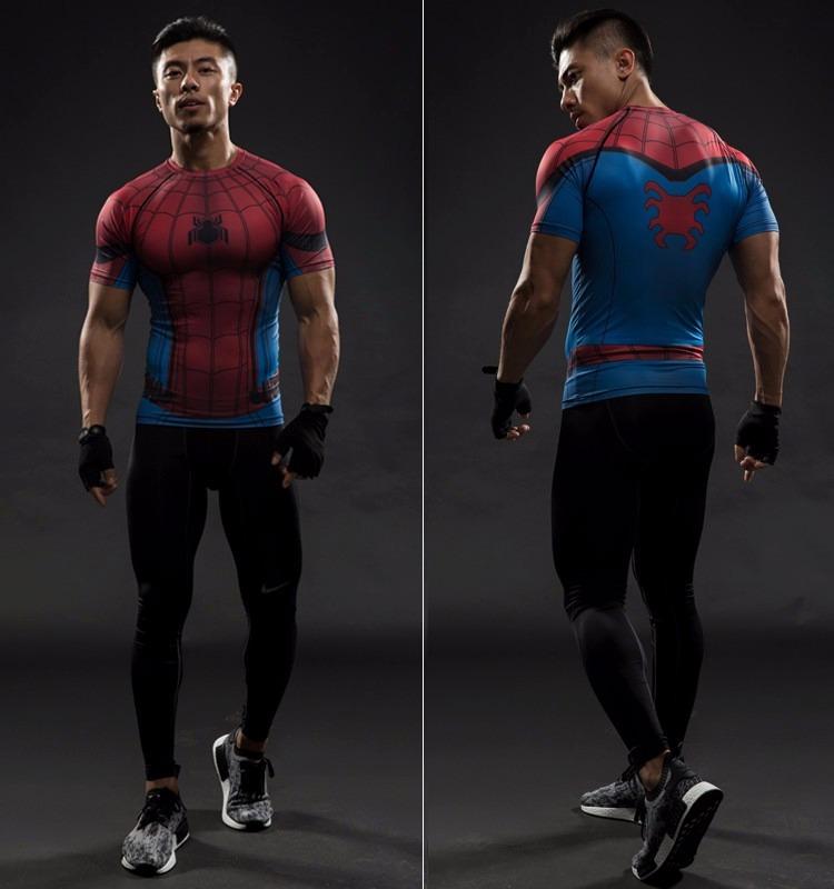 36baee6ee257a camisa compressão homem aranha 3d modelo 1 pronta entrega. Carregando zoom.