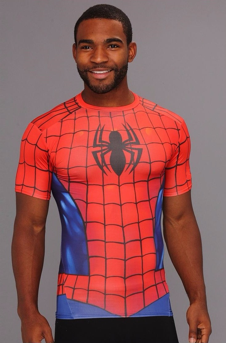 9e00c92d83c80 camisa compressão homem-aranha rash guard - pronta entrega. Carregando zoom.