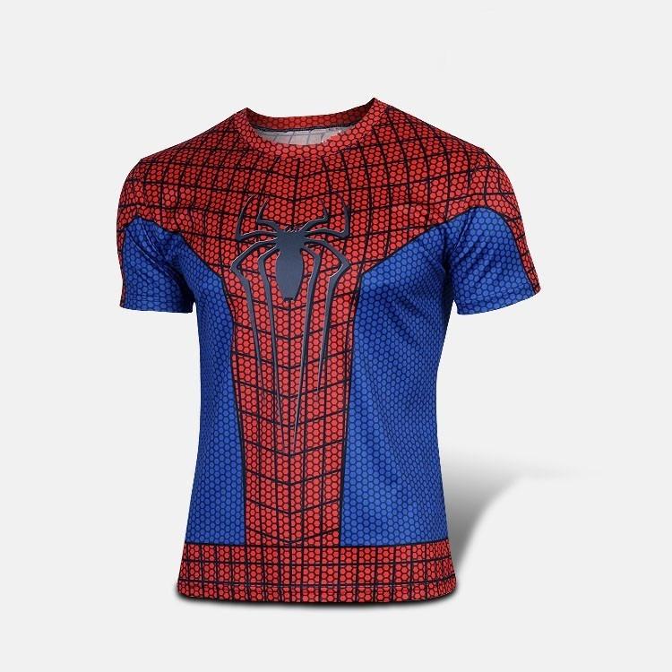 83529d7af68a7 Camisa Compressão Homem Aranha Vingadores - Pronta Entrega - R  60 ...