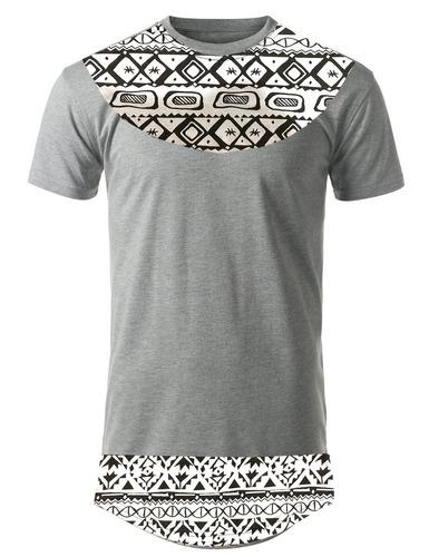 camisa comprida swag bag hip hop oversized alongada