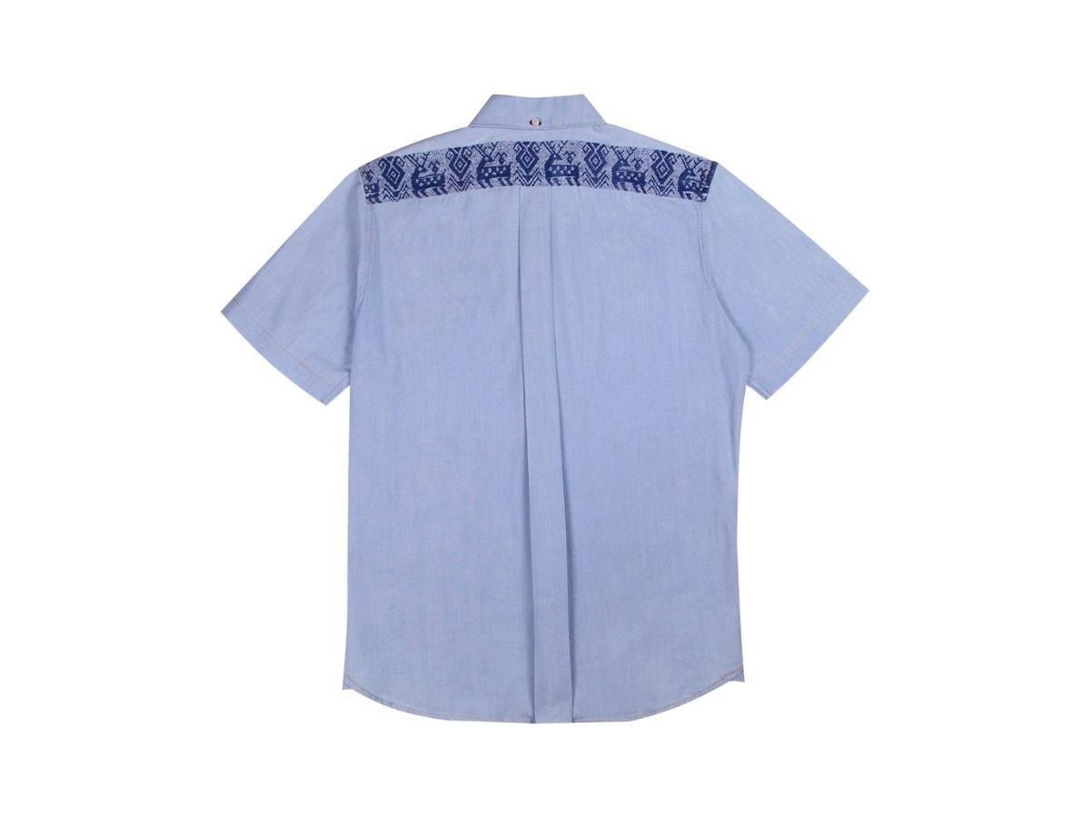 Camisa con bordado artesanal de puebla en mercado libre jpg 1200x899 Camisas  con bordado artesanal 03967797d031c