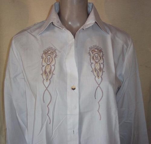 camisa con bordado. talle xxl.muy buen estado!!! vivimar7
