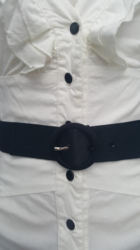 camisa con cinto ona saez