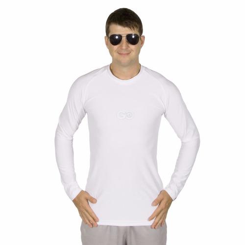 camisa con proteccion solar manga larga upf50 fresca y suave