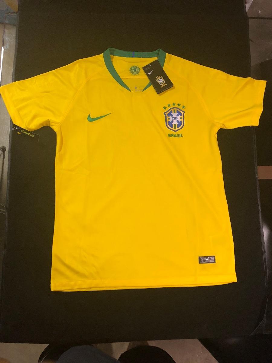 camisa copa 2018 seleção brasil oficial torcedor fotos reais. Carregando  zoom. 536ebf1f55a16