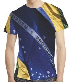 2a40fad87 Linda !! Camiseta Da Copa Bandeira Do Brasil Da Bee T.gg - Camisetas ...
