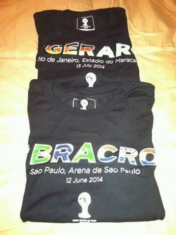 camisa copa do mundo brasil x croacia oficial fifa