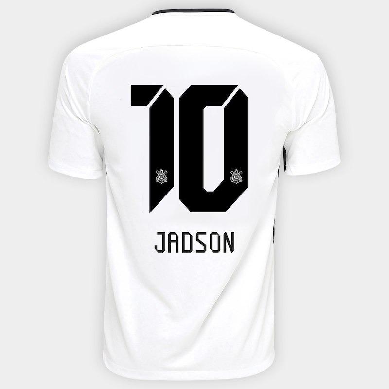 Camisa Corinthians 17 18 Jadson Torcedor Promoção Relâmpago - R  125 ... bacb14642c1c3