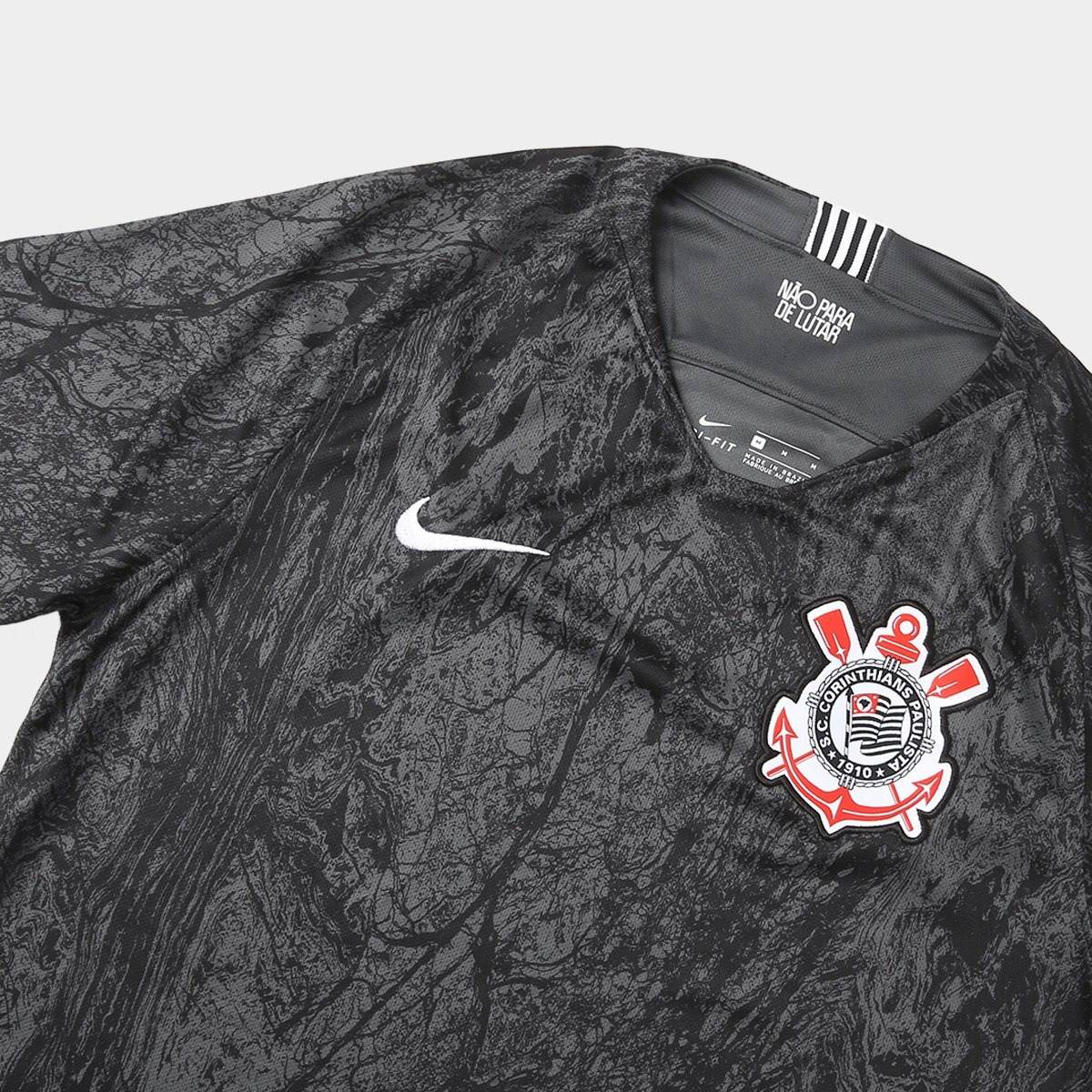 6af9ad9df camisa corinthians 2 2019 nova original oficial nike preta. Carregando zoom.