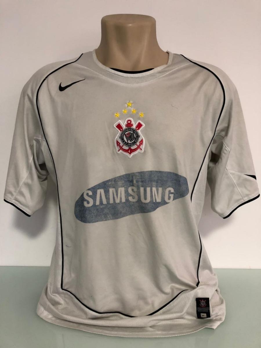 camisa corinthians 2006 com patch brasileiro 2005. Carregando zoom. 9a77d88619aab