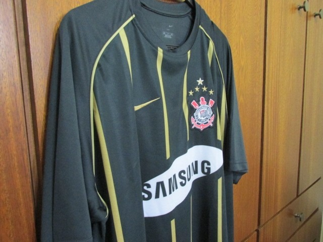 Camisa Corinthians 2006 Libertadores Uniforme 3 Tam Xl Nike - R  360 ... 8d54044badbe2