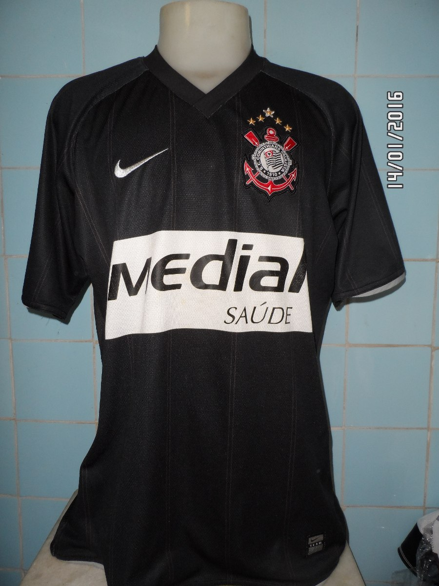 camisa corinthians 2008 preta. Carregando zoom. 0da5076f78c77