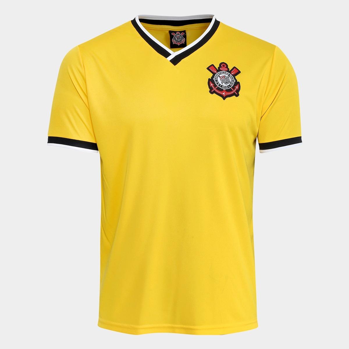 fbd53b3794 camisa corinthians 2014 amarela edição limitada frete grátis. Carregando  zoom.