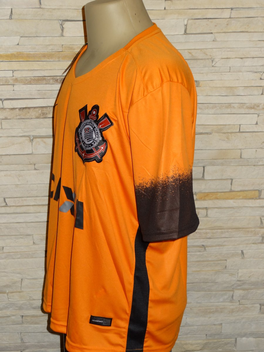 7c2fd64052b96 camisa corinthians 2015 laranja terrão. Carregando zoom.