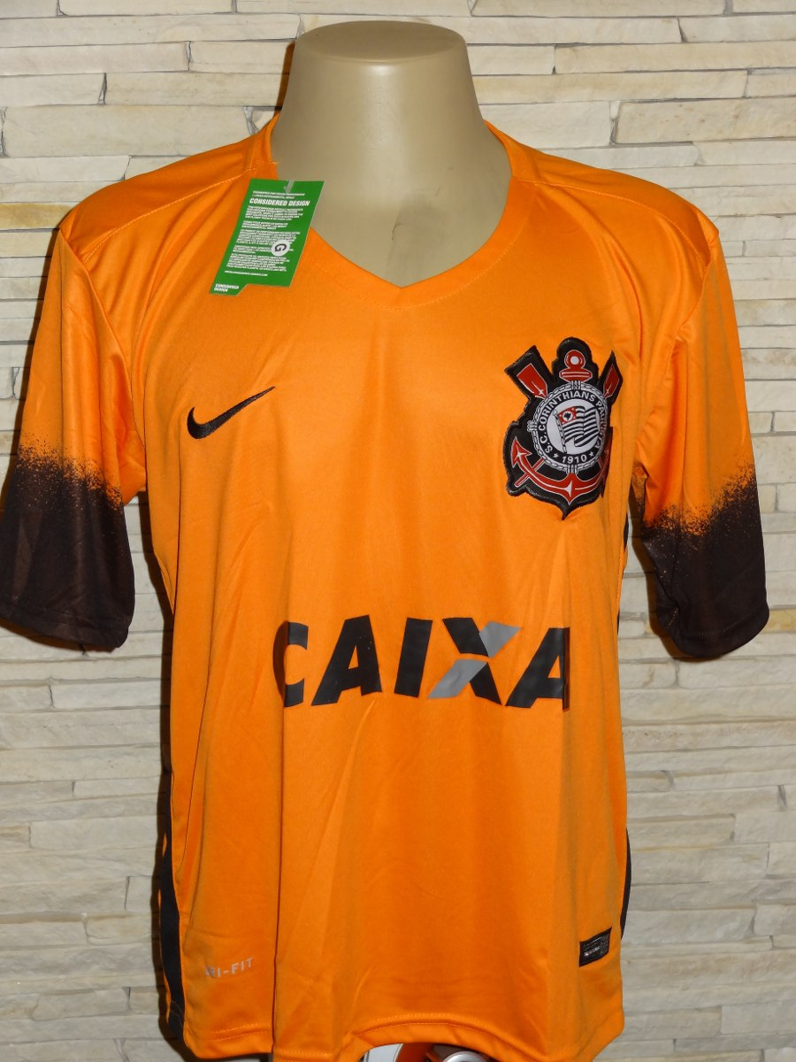 camisa corinthians 2015 laranja terrão. Carregando zoom. 0e25fe69ffb44