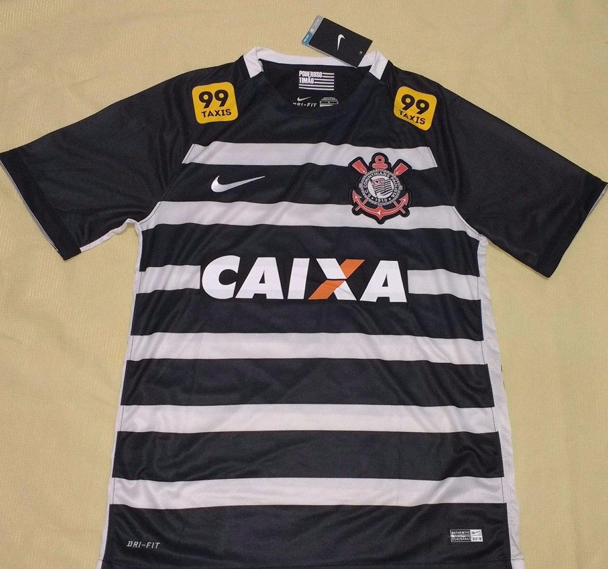 camisa corinthians 2015 orig nike hexacampeão brasileiro. Carregando zoom. 819a5b858ce99