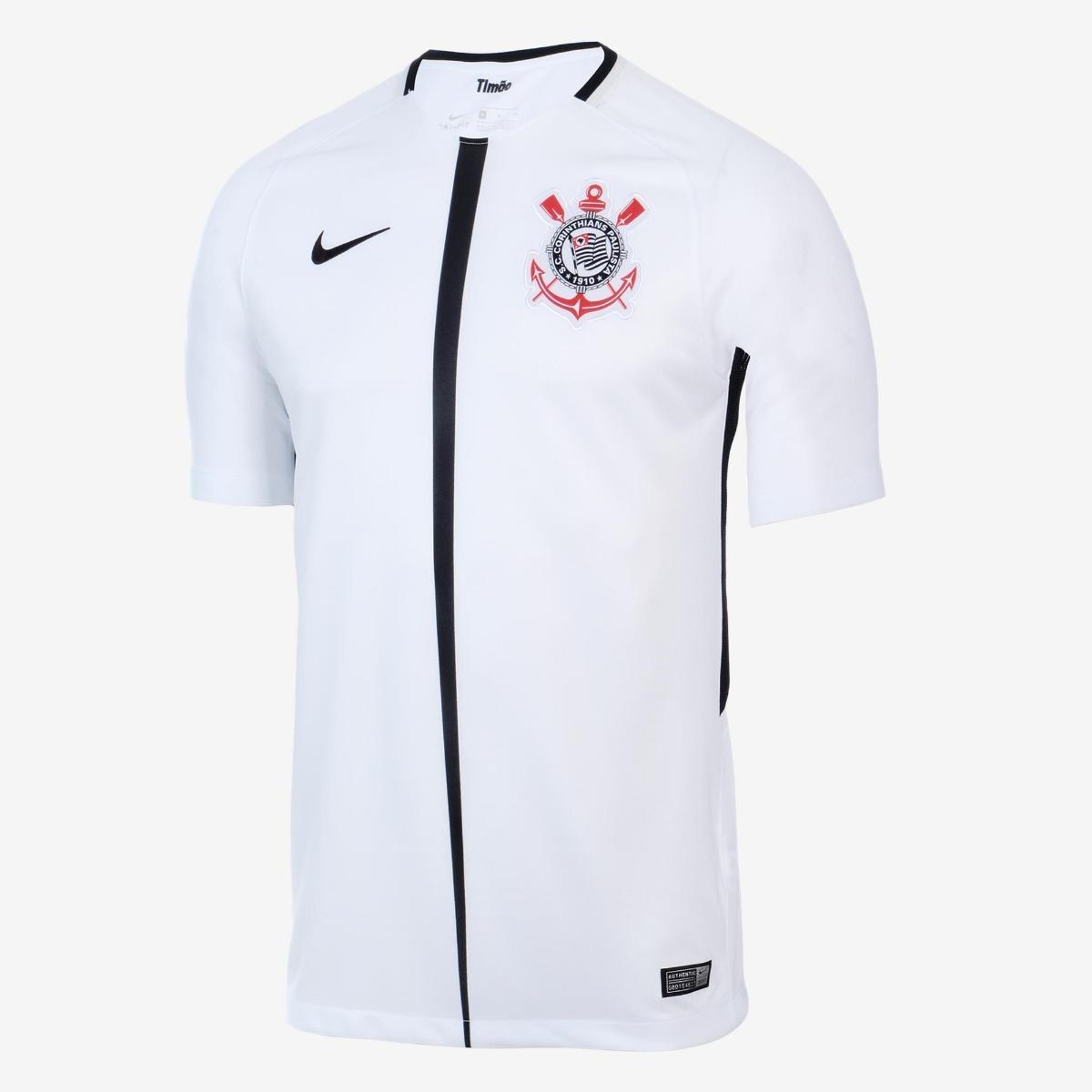 215f506c1f Camisa Corinthians 2017/18 S/nº Promoção Relâmpago - R$ 99,90 em Mercado  Livre
