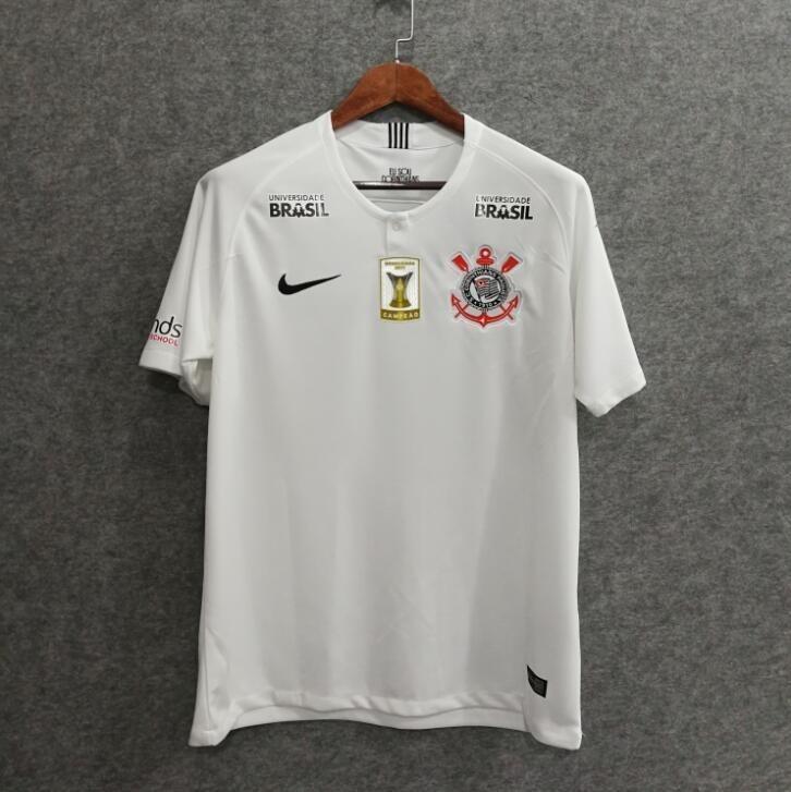 7dc482e8b Camisa Corinthians 2018 - Com Patrocinadores - Via Encomenda - R ...