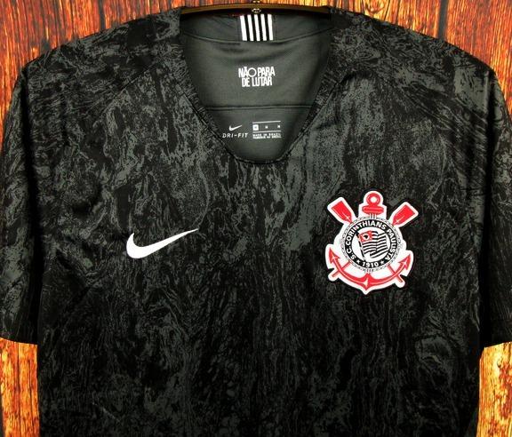 7e4e119c9 Camisa Corinthians 2018 2019 Away Uniforme 2 Fagner Jadson - R  125 ...