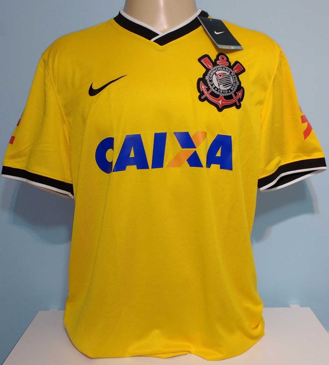 camisa corinthians amarela jogador romarinho 2014 orig nike. Carregando zoom . ee60264c2b299