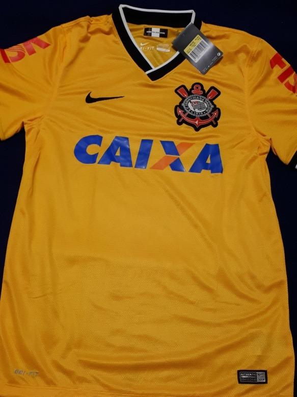 be84f8c2a1 Camisa Corinthians Amarela Oficial - Produto 100% Original- - R  59 ...