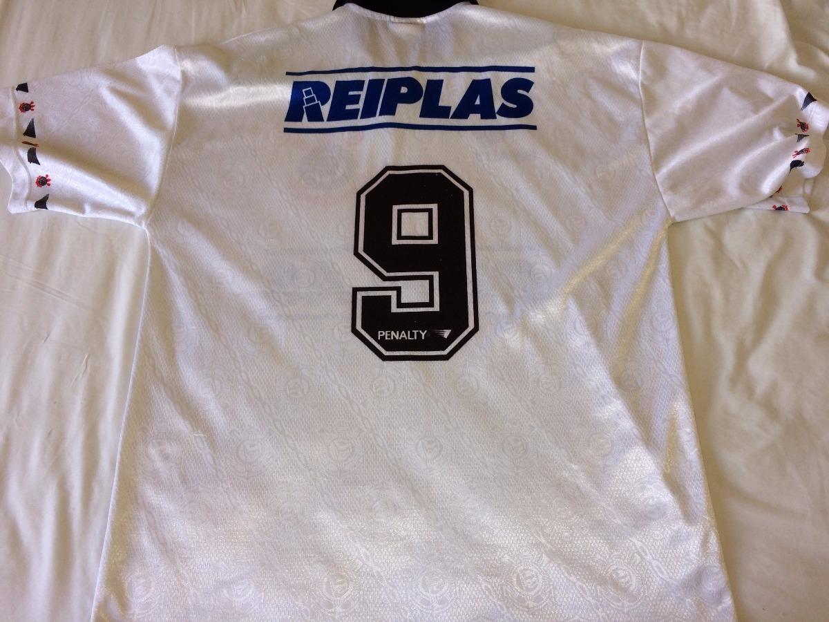 8e5038e2c6f35 camisa corinthians anos 90 futsal reiplas penalty de jogo ! Carregando zoom.