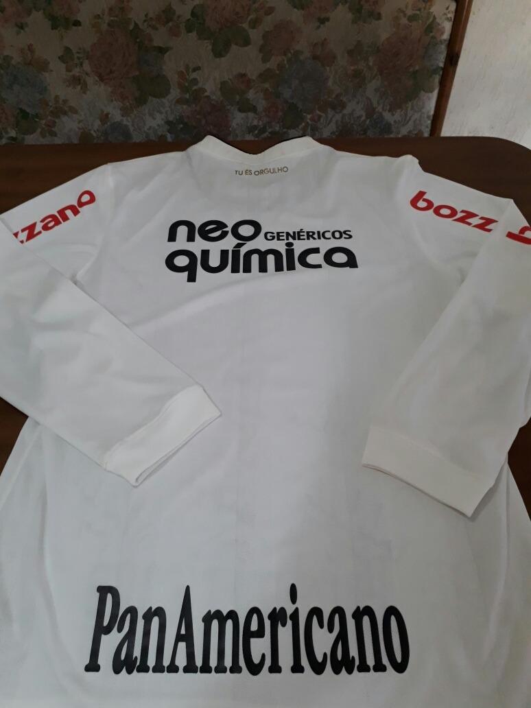 camisa corinthians autografada elenco 2009. Carregando zoom. 78bd9edee94de