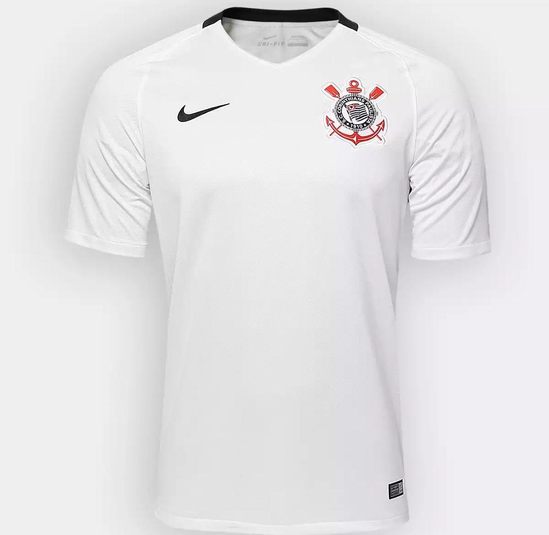 883dda0eeb camisa corinthians branca 2016 2017 oficial nike oferta. Carregando zoom.