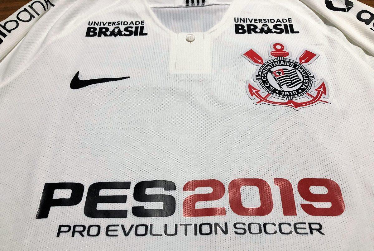 Camisa Corinthians Copa Brasil 2018 Jadson Jogo Autografada - R  799 ... 3110a7a3c8902