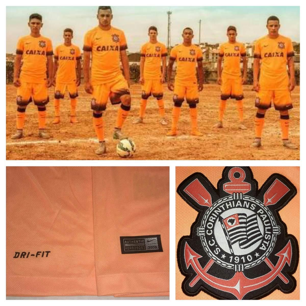 Camisa Do Corinthians Campeão Brasileiro 2015 Nike Original - R  199 ... ff0dc8b9f9170