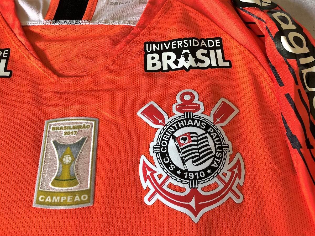 Camisa Do Corinthians Brasileirão 2018 Cássio Autografada - R  999 ... a171b1ac0c931