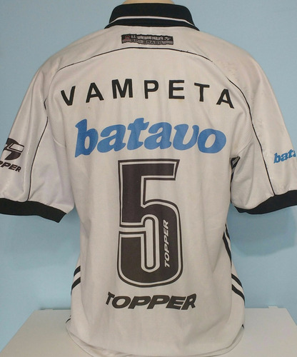 camisa corinthians campeão 1999 original topper vampeta - 20
