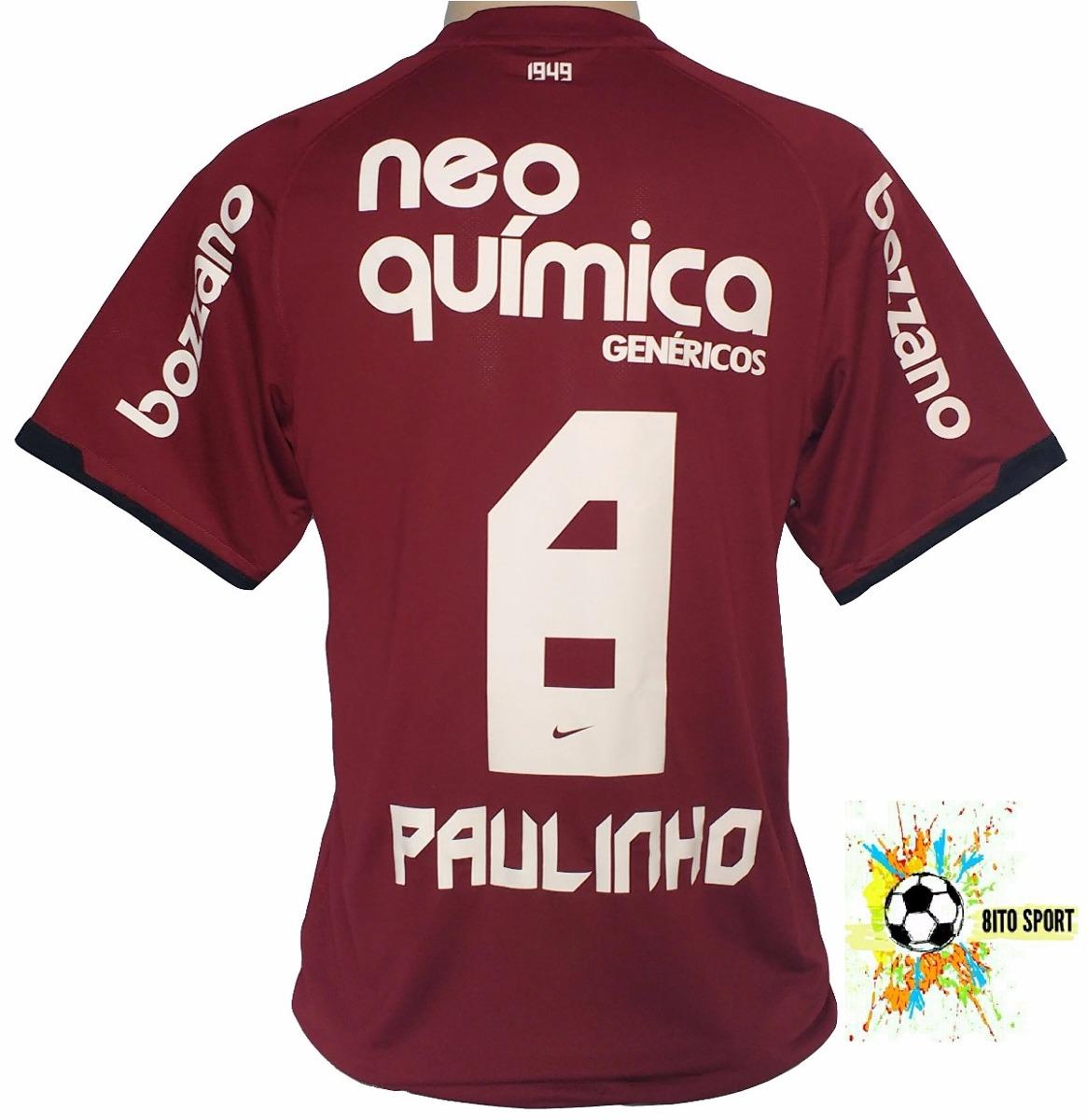 381d8cf9f521a Camisa Corinthians Campeão 2011 Original Nike Paulinho Grená - R ...