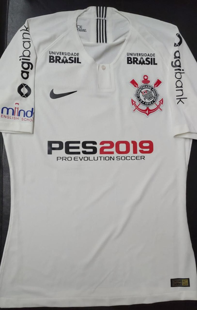 camisa corinthians de jogo copa do brasil 2018. Carregando zoom. d49fe7727dc4f