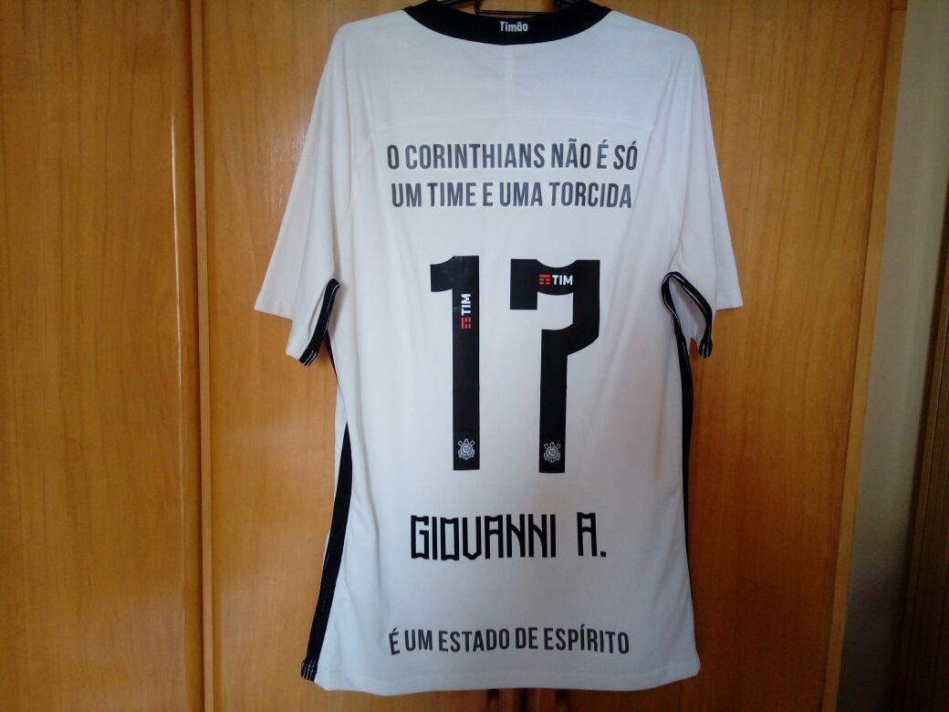 Camisa Corinthians De Jogo Das Frases Estado De Espirito