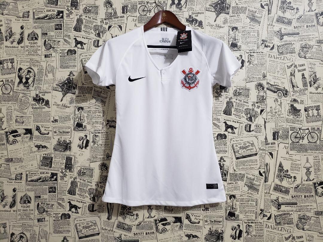 camisa corinthians feminina 2018 padrão original. Carregando zoom. 808f17850de17