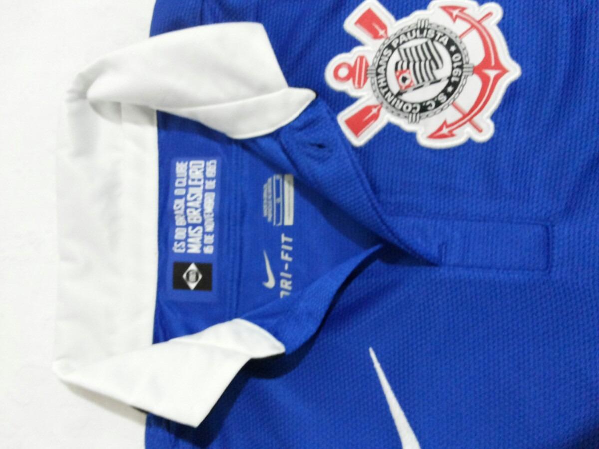 295d44037b Camisa Nike Corinthians Azul Feminina Novaa - R  100