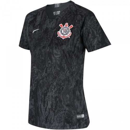 camisa corinthians feminina