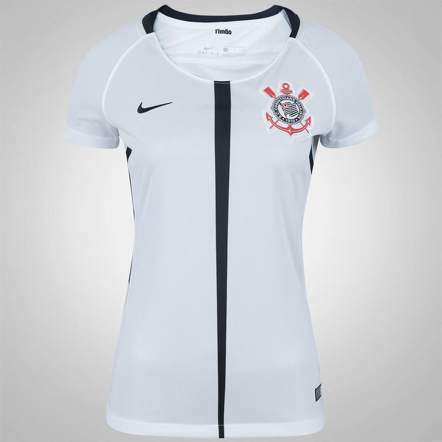4ad8d624d7 Camisa Corinthians Feminina Babylook Oficial Sup Ao Torcedor - R  45 ...
