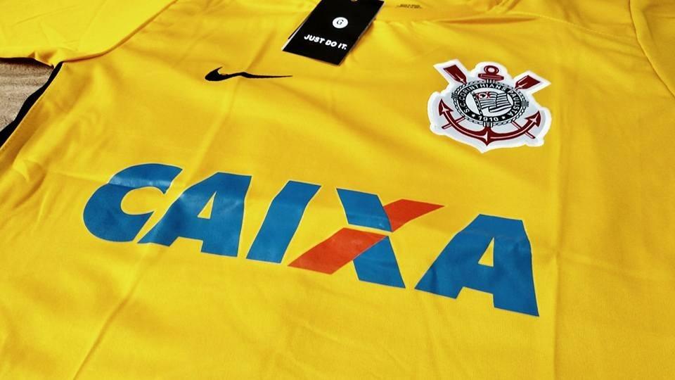 2e56e80d08 camisa corinthians goleiro amarela cássio 12 frete grátis. Carregando zoom.