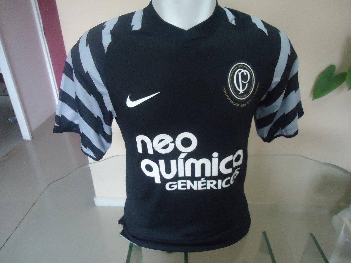 72e8295471 Camisa Corinthians Goleiro Centenário Nike - S nº- Jogador - R  279 ...