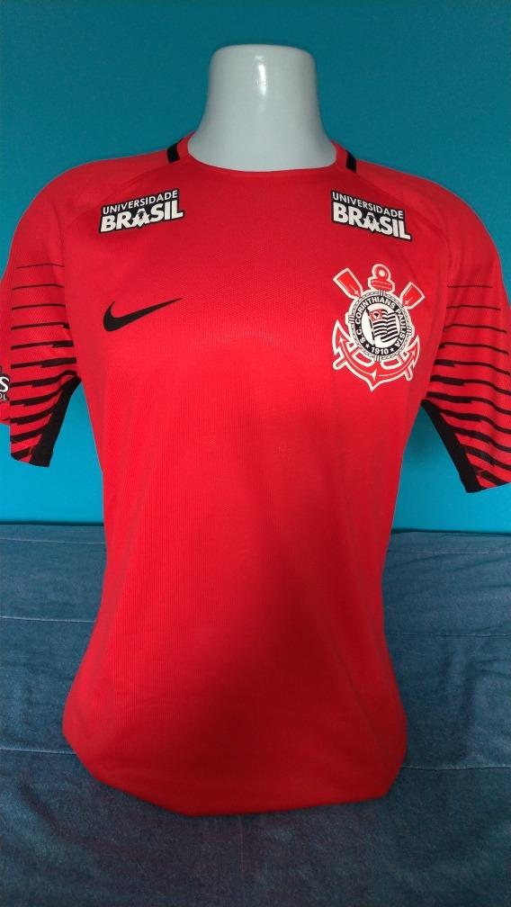 Camisa Corinthians Goleiro Nike 2016 2017 Jogador - R  450 f1bbaf593d5b2