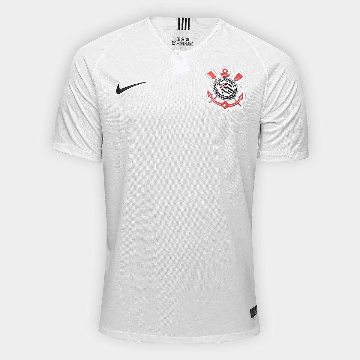 Camisa Corinthians I 18 19 S n° Torcedor Nike Masculina - R  150 f090b341ba377