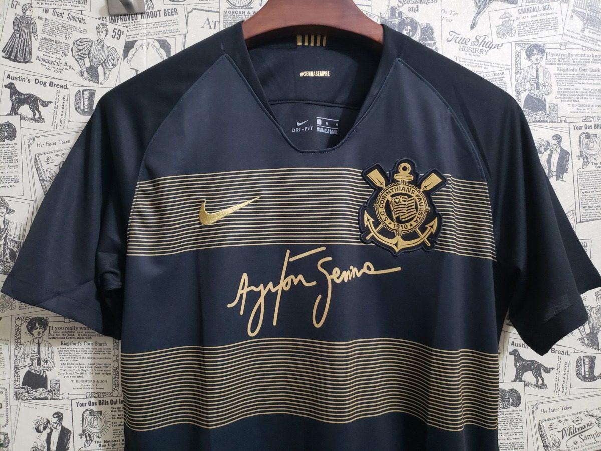 2733dcfb51 Camisa Corinthians Iii - Ayrton Senna - R$ 169,00 em Mercado Livre